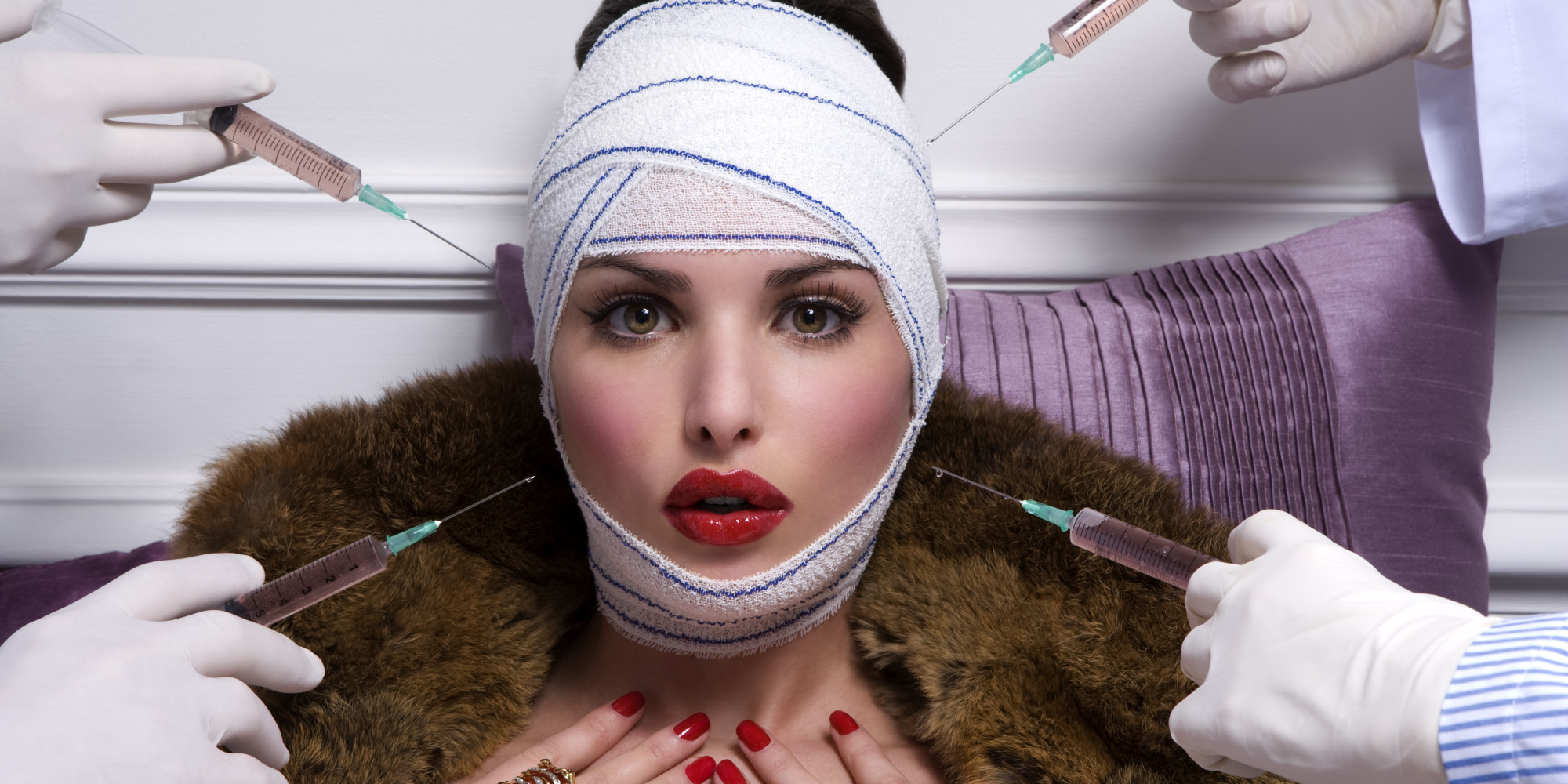 Are Cosmetic treatments becoming the new make-up?